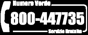Numero Verde 800 447735