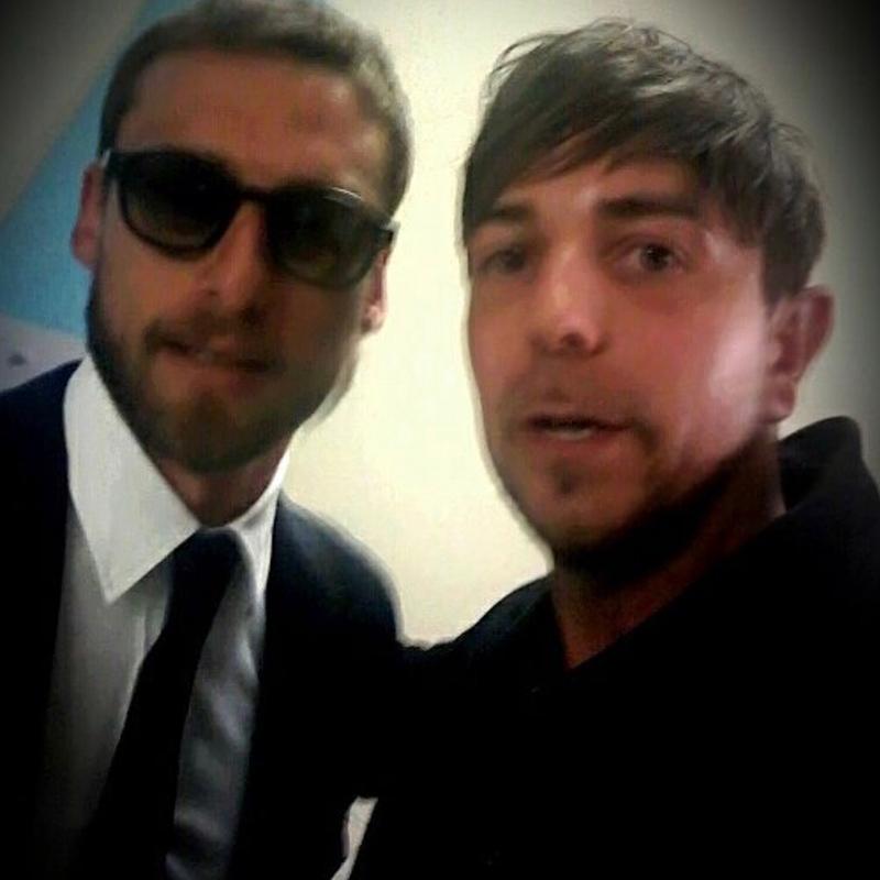 Alessandro Recine e Claudio Marchisio
