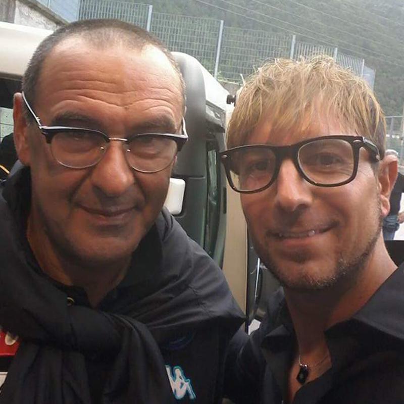 Alessandro Recine e Maurizio Sarri