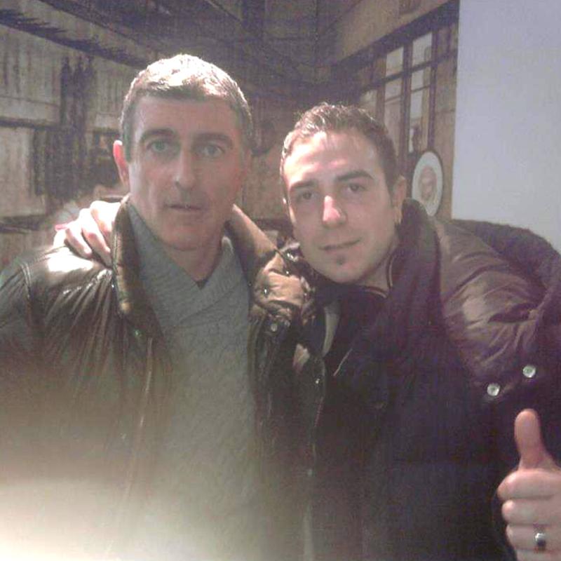 Alessandro Recine e Gianluca Pagliuca