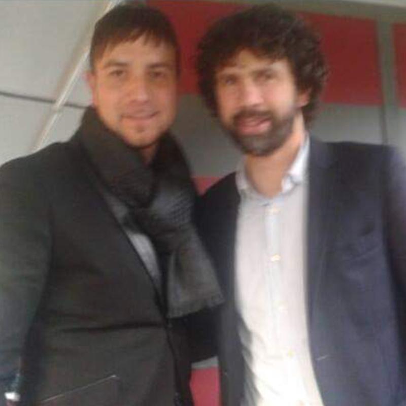 Alessandro Recine e Damiano Tommasi