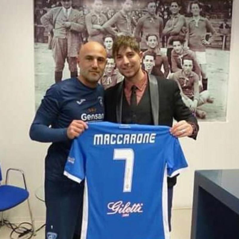 Alessandro Recine e Massimo Maccaranone