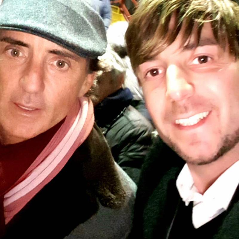 Alessandro Recine e Roberto Mancini